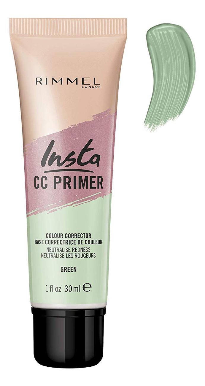 Праймер для лица Insta CC Primer Colour Correcting 30мл: Green
