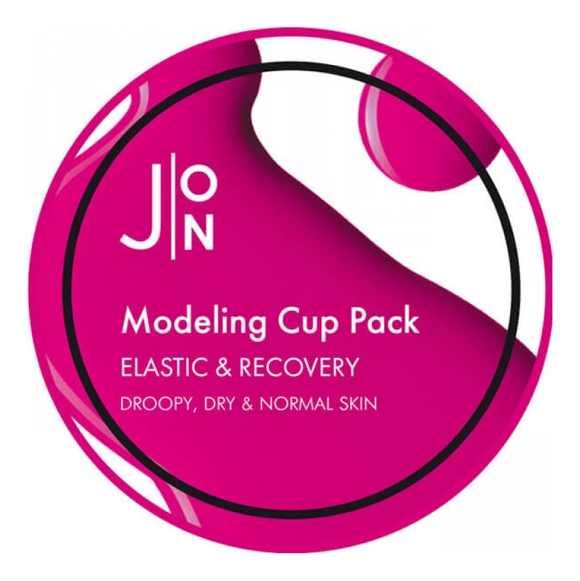 Фото - Альгинатная маска для лица Elastic & Recovery Modeling Pack: Маска 18г альгинатная маска с экстрактом ацеролы acerola modeling cup pack 18г