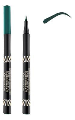 Купить Подводка-маркер для глаз Masterpiece High Precision Liquid Eyeliner 1мл: 25 Forest, Max Factor