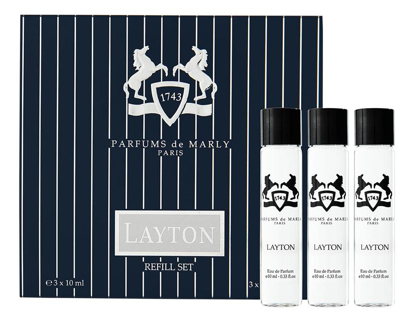 Layton: парфюмерная вода 3*10мл запаска parfums de marly pegasus парфюмерная вода 3 10мл запаска