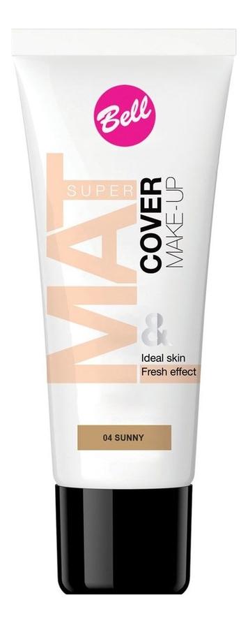 Тональный флюид для лица Super Mat Cover Make-Up 30мл: 04 Sunny