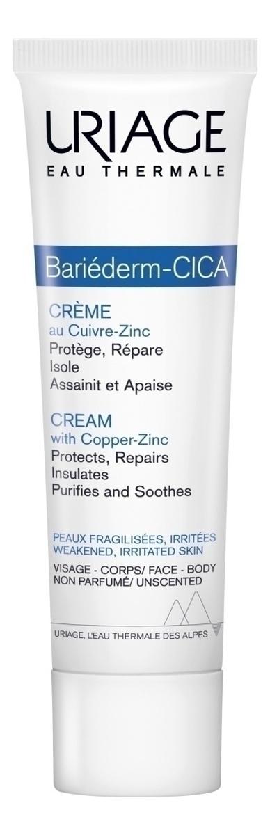 Фото - Восстанавливающий крем для сухой кожи Bariederm Cica-Cream: Крем 15мл uriage комплект изолирующий восстанавливающий крем для рук 50мл ксемоз крем для лица 40мл uriage bariederm