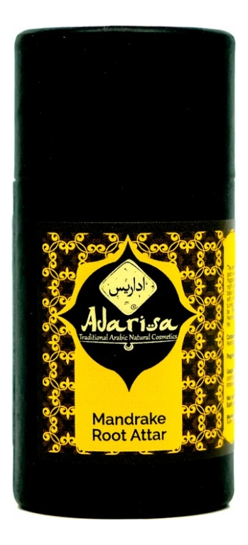 Adarisa Аттар корень мандрагоры: масляные духи 1мл adarisa аттар франжипани масляные духи 1мл