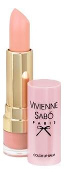 Помада-бальзам для губ Baume A Levres: No 01 vivienne sabo помада бальзам lipstick balm baume a levres тон 05 3 мл