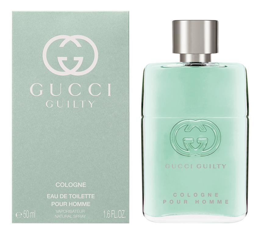 Guilty Cologne Pour Homme: туалетная вода 50мл guilty intense pour homme туалетная вода 90мл