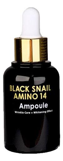 Купить Сыворотка для лица ампульная с аминокислотами Black Snail Amino 14 Ampoule 30мл, Eyenlip