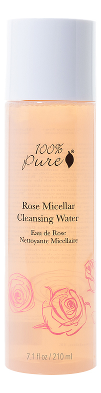 Очищающая мицеллярная вода для лица Rose Micellar Cleansing Water 210мл фото