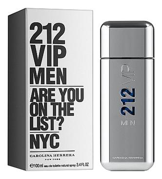 212 VIP Men: туалетная вода 100мл carolina herrera 212 sexy men туалетная вода 100мл