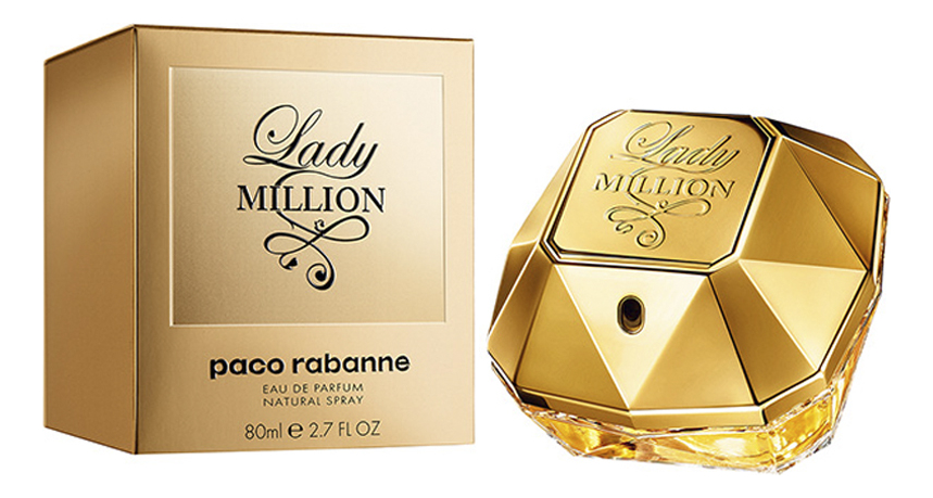 Paco Rabanne Lady Million: парфюмерная вода 80мл