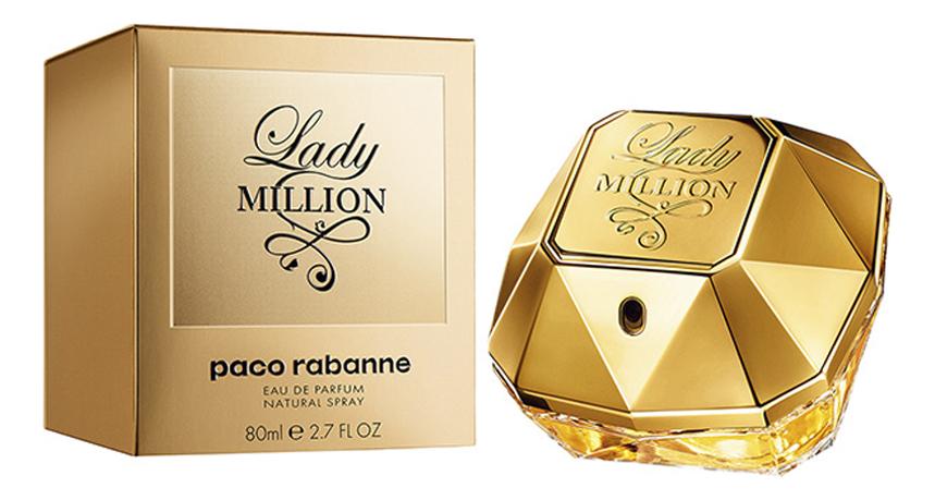 Paco Rabanne Lady Million: парфюмерная вода 80мл paco rabanne lady million monopoly парфюмерная вода 80мл