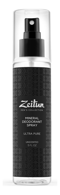 Купить Минеральный дезодорант-антиперспирант без запаха Ультра чистота 150мл, Zeitun