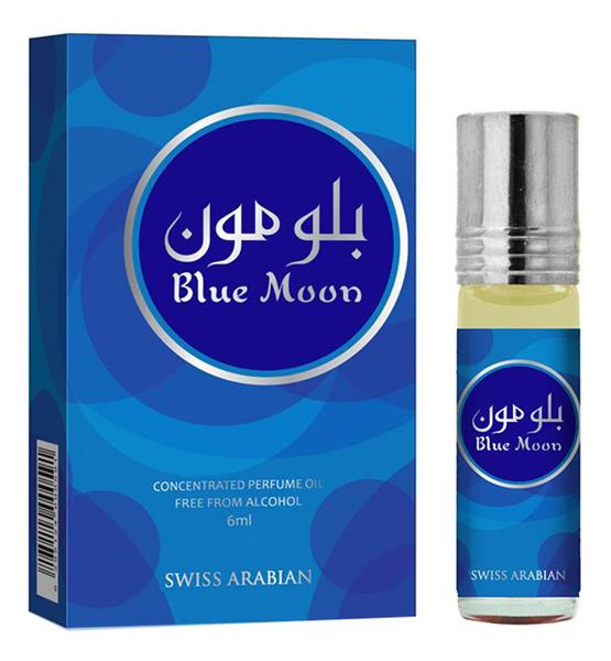 Blue Moon: масляные духи 6мл духи swiss arabian waha 6 мл