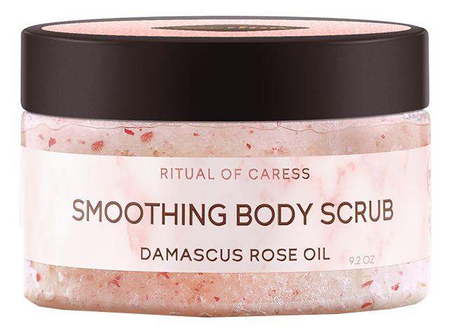 Смягчающий скраб для тела с дамасской розой Ритуал нежности Smoothing Body Scrub 250мл недорого