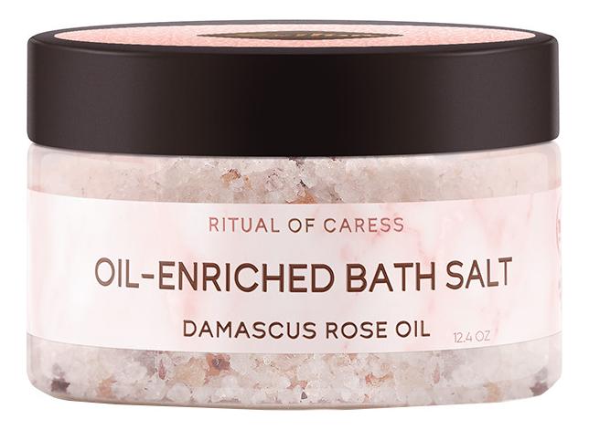 цена Соль для ванны c дамасской розой и маслом персика Ритуал нежности Bath Salt 250мл онлайн в 2017 году