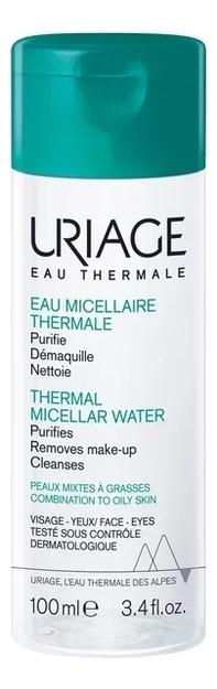 Фото - Мицеллярная вода для жирной и комбинированной кожи Eau Thermale Micellaire: Вода 100мл uriage мицеллярная вода очищающая для жирной и комбинированной кожи 500 мл