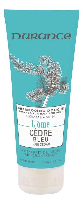 Шампунь-гель для душа 2 в 1 Голубой кедр L'Ome Shower Gel & Shampoo 200мл