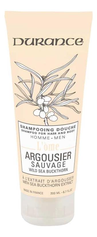 Купить Шампунь-гель для душа 2 в 1 Дикая облепиха L'Ome Shower Gel & Shampoo 200мл, Шампунь-гель для душа 2 в 1 Дикая облепиха L'Ome Shower Gel & Shampoo 200мл, Durance