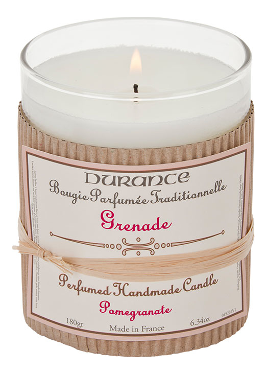 Ароматическая свеча Perfumed Candle Pomegranate 180г (гранат)