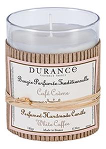 Ароматическая свеча Perfumed Candle White Coffee 180г (белый кофе)