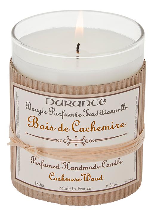Купить Ароматическая свеча Perfumed Candle Cashmere Wood 180г (дерево кашемира), Durance