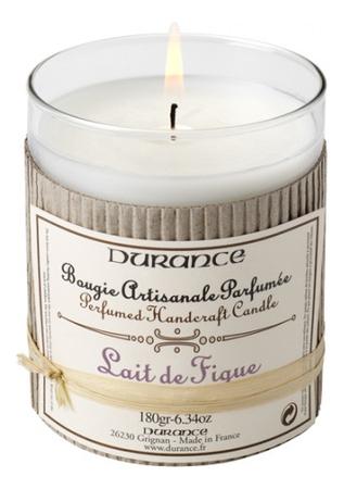 Купить Ароматическая свеча Perfumed Candle Fig Milk 180г (инжир), Durance