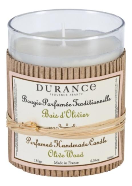 Купить Ароматическая свеча Perfumed Candle Wood Olive 180г (дерево оливы), Durance