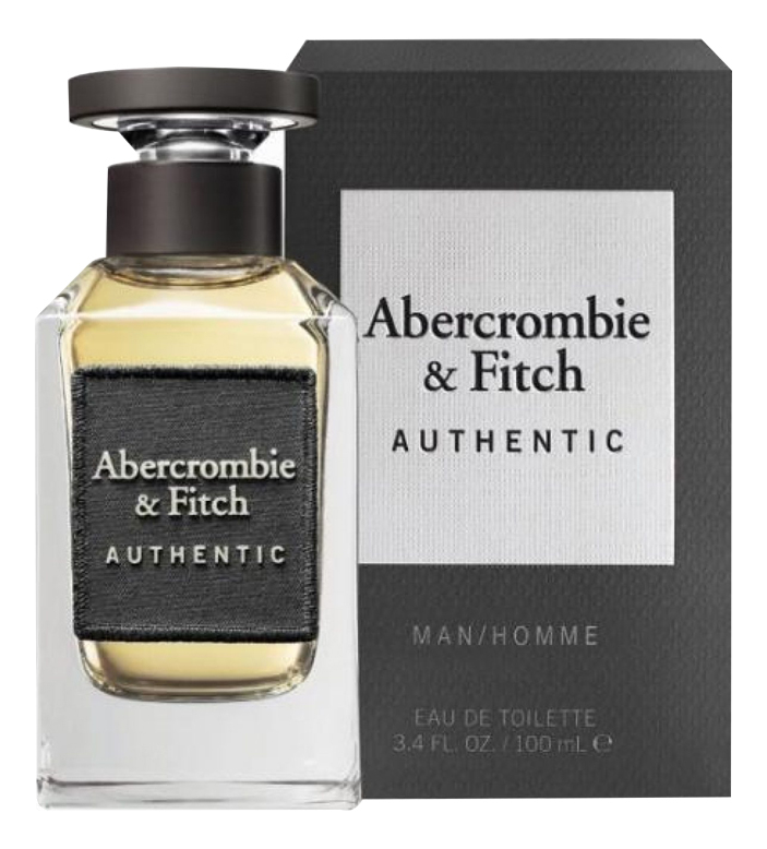 Abercrombie & Fitch Authentic Man: туалетная вода 100мл