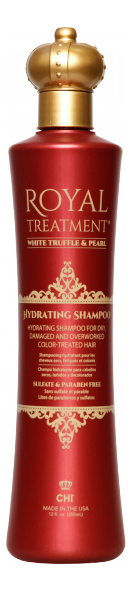 Купить Увлажняющий шампунь Королевский Уход Royal Treatment Hydrating Shampoo: Шампунь 355мл, CHI