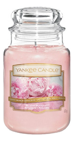 Фото - Ароматическая свеча Blush Bouquet: Свеча 623г ароматическая свеча snowflake cookie свеча 623г