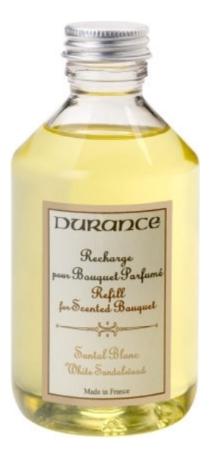 Купить Наполнитель для аромадиффузора Refill For Reed Diffuser Sandalwood 250мл (белый сандал), Durance
