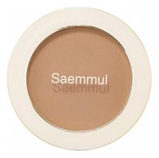 Однотонные румяна Saemmul Single Blusher 5г: BR03 Cloudy Brown