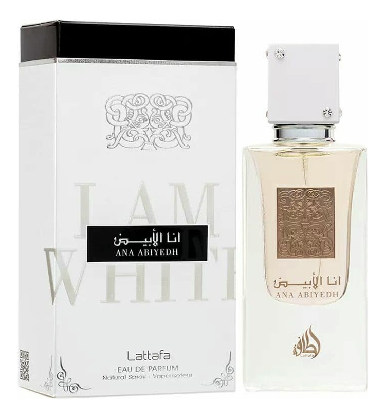Купить Ana Abiyedh: парфюмерная вода 60мл, Lattafa