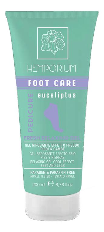 Гель расслабляющий с охлаждающим эффектом для ног Foot Care Fresh Relaxing Gel 200мл