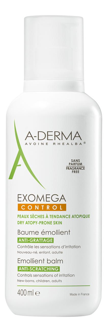Купить Смягчающий бальзам для лица и тела Exomega Control Baume Emollient 400мл, A-DERMA