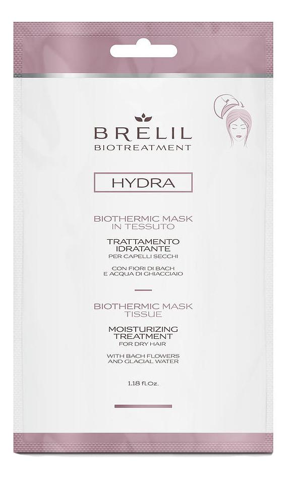 Купить Увлажняющая экспресс-маска для волос Bio Treatment Hydra Moisturizing Treatment 35мл, Brelil Professional