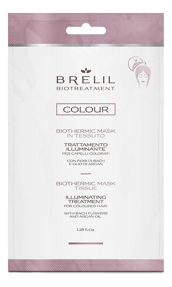 Купить Экспресс-маска для окрашенных волос Bio Treatment Colour Illuminating Treatment 35мл, Brelil Professional
