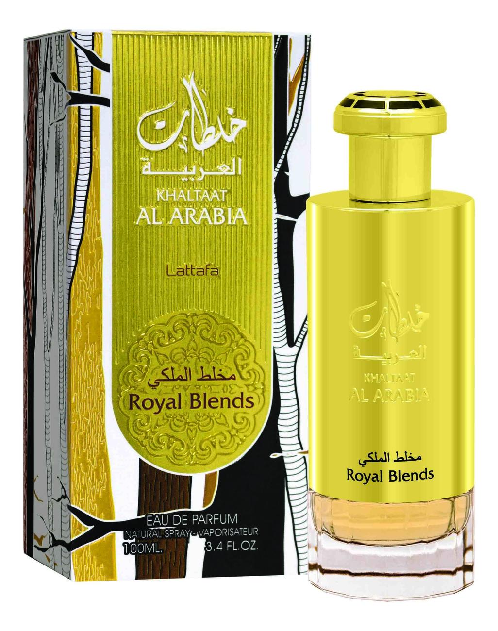Lattafa Khaltaat Al Arabia Royal Blends: парфюмерная вода 100мл