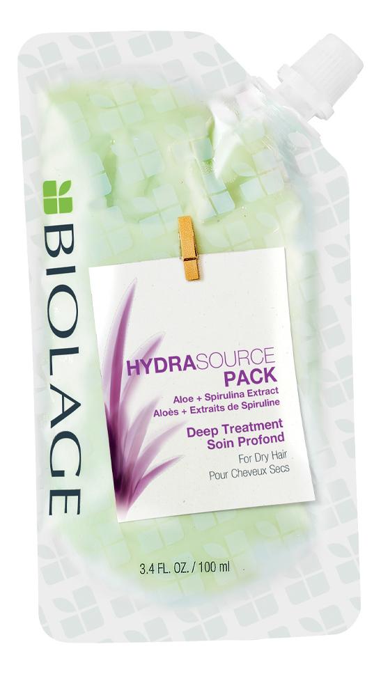 Увлажняющая маска для волос с экстрактом алоэ Biolage Hydrasource Aloe Mask: Маска 100мл недорого