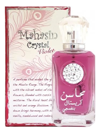 Lattafa Mahasin Crystal Violet: парфюмерная вода 100мл
