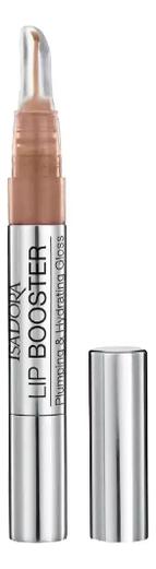 Блеск для губ инъекция красоты Lip Booster Plumping & Hydrating Gloss 1, 9мл: 09 Almond Glaze, Блеск для губ Инъекция красоты Lip Booster Plumping & Hydrating Gloss 1, 9мл, IsaDora  - Купить