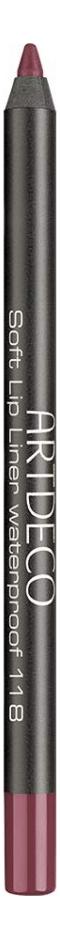 Карандаш для губ водостойкий Soft Lip Liner Waterproof 1,2г: 118 Garnet Red недорого