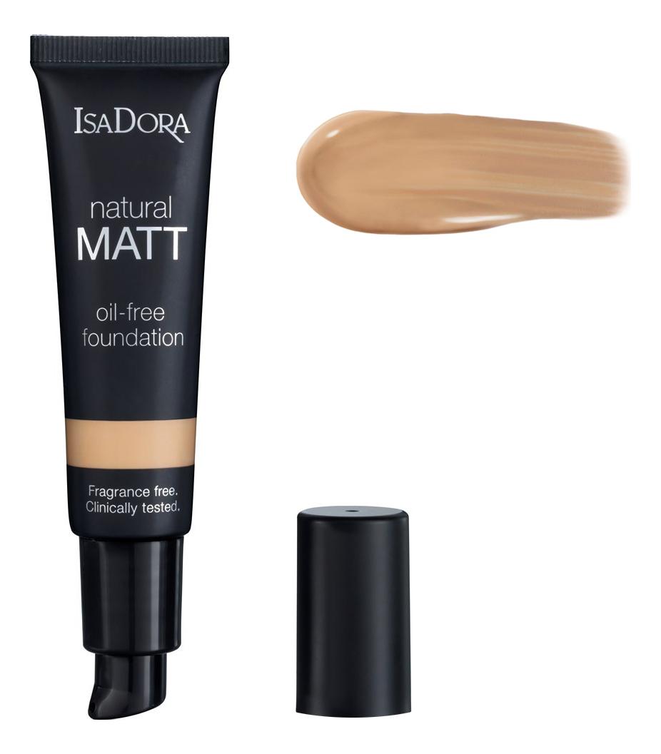 Матирующий тональный крем для лица Natural Matt Oil-Free Foundation 35мл: 16 Cream