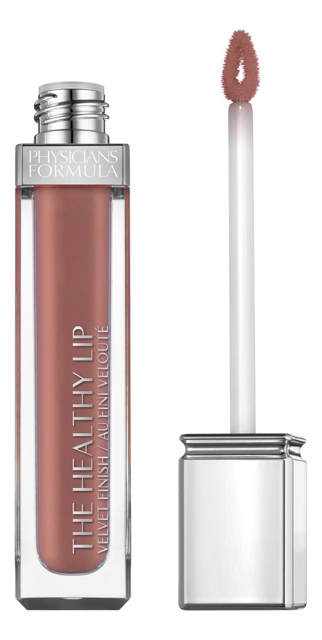 цена на Жидкая матовая помада для губ The Healthy Lip Velvet Liquid Lipstick 7мл: No 18