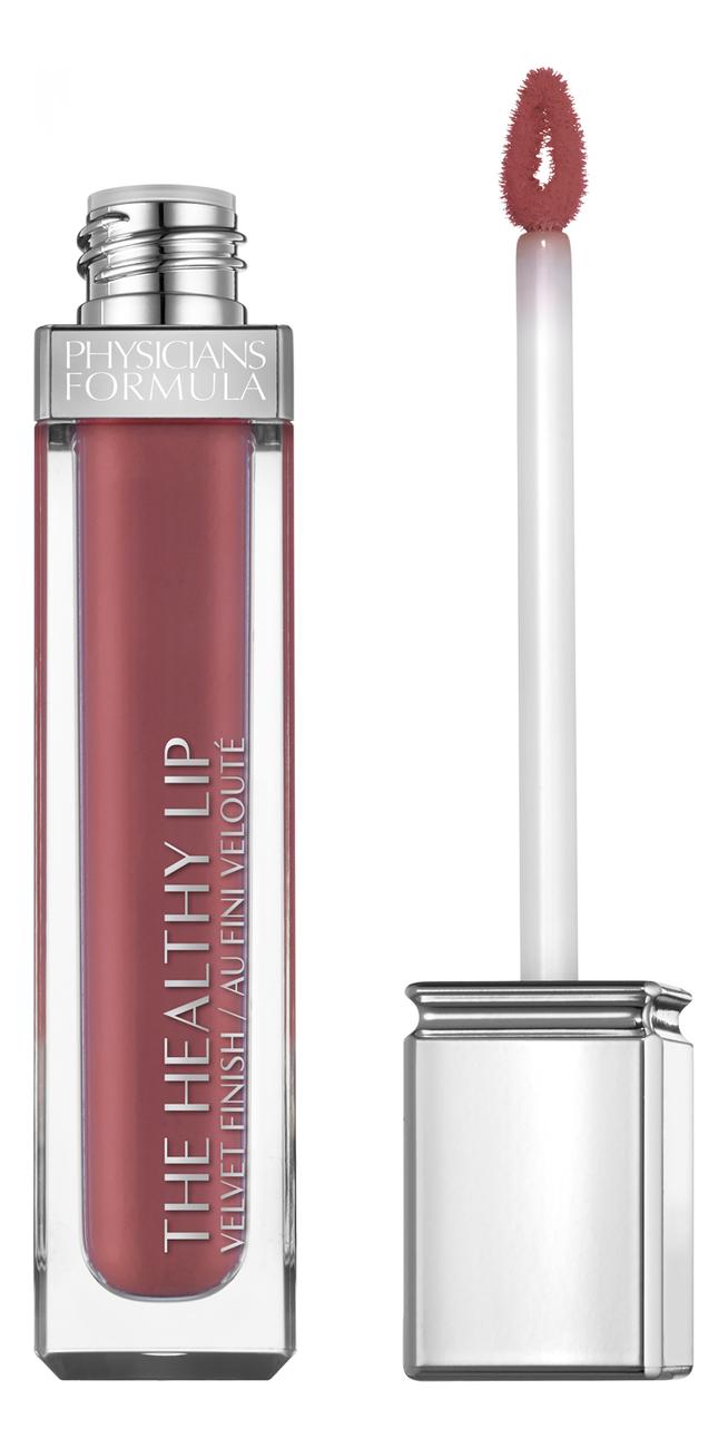 Жидкая матовая помада для губ The Healthy Lip Velvet Liquid Lipstick 7мл: No 24