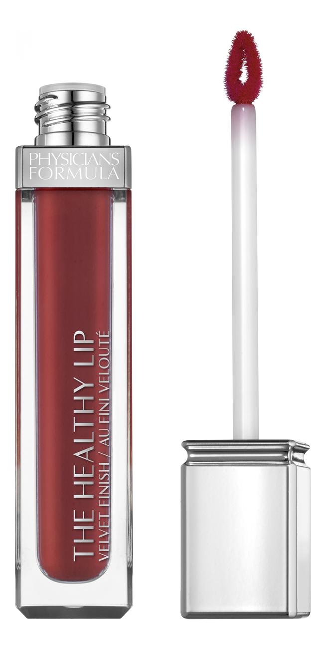 цена на Жидкая матовая помада для губ The Healthy Lip Velvet Liquid Lipstick 7мл: No 28