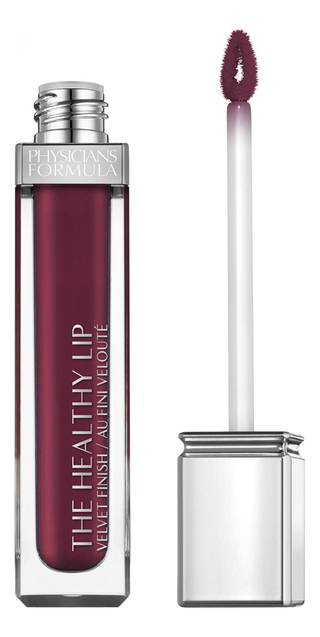 цена на Жидкая матовая помада для губ The Healthy Lip Velvet Liquid Lipstick 7мл: No 589