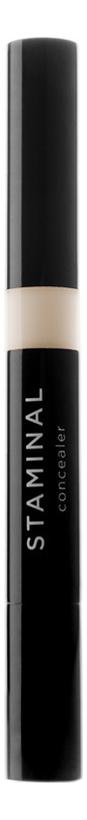 Корректор с кисточкой Staminal Concealer 1,5мл: No 05 nouba карандаш staminal concealer 03 корректирующий 1 5 мл