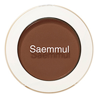 Тени для век матовые Saemmul Single Shadow Matt 1,6г: BR16 Elegant Brown