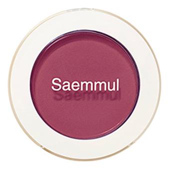 Тени для век матовые Saemmul Single Shadow Matt 1,6г: RD08 Kill Point Burgundy