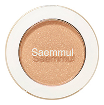 Тени для век мерцающие Saemmul Single Shadow Shimmer 2г: BE06 Lonely Beige недорого
